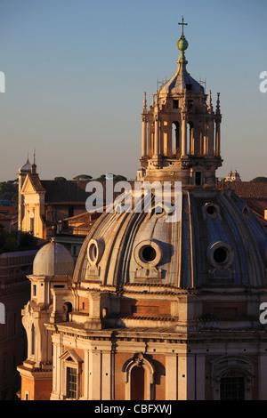 Italy, Lazio, Rome, Santa Maria di Loreto, church, - Stock Photo