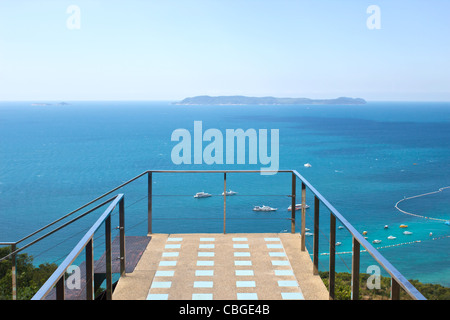 background, bay, beach, beautiful, blue, boats, clouds, coast, coastline, cote, cruise, exotic, wallpaper, water, - Stock Photo