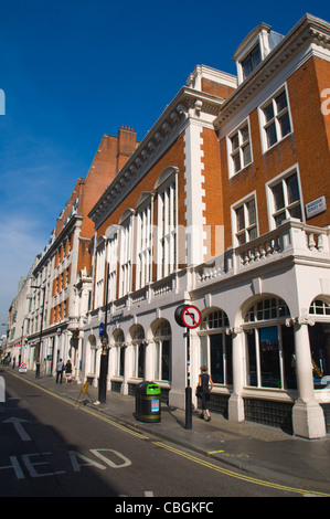 Wardour Street in Soho central London England UK Europe - Stock Photo