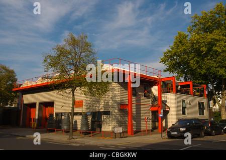North Kensington fire station Ladbroke Grove west London England UK Europe - Stock Photo