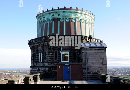 The dome of the 36' reflecting telescope at the Royal Observatory Edinburgh - Stock Photo