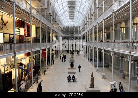 National Museum of Scotland. Edinburgh, Scotland. - Stock Photo