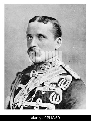 advance Army Lieut General Field Marshal Frederick Sleigh Roberts 1st Earl 1832 1914 British soldier commander in - Stock Photo