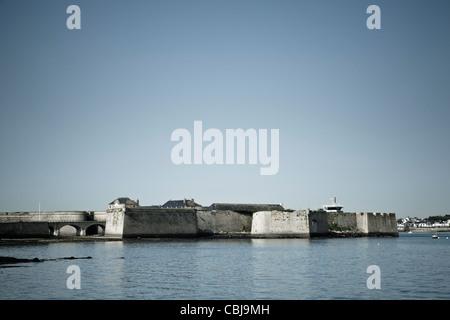 Port Louis citadel, Morbihan, Brittany, France - Stock Photo