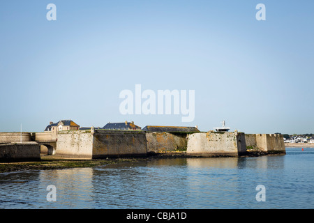 Fortress at Port Louis, Morbihan, Brittany, France - Stock Photo