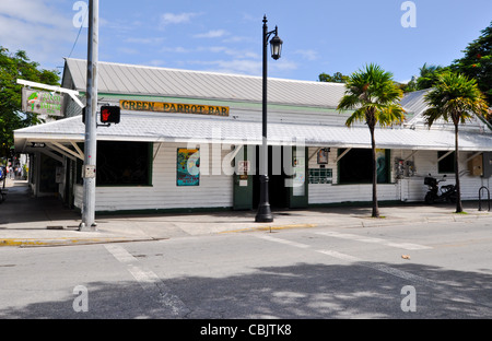 Green Parrot Bar, Key West, Florida  601 Whitehead Street, Key West, FL 33040 - Stock Photo
