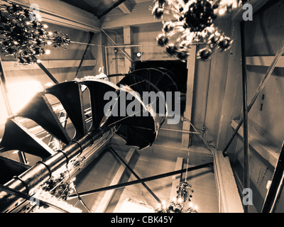 ... Spiral Staircase At The Top Of The Clock Tower On 16th Street Mall In  Denver,