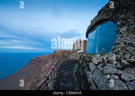 Mirador del Río, Lanzarote, Canary Islands, Spain. - Stock Photo