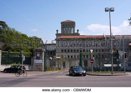 Centre William Rappard, Geneva, Switzerland - Stock Photo
