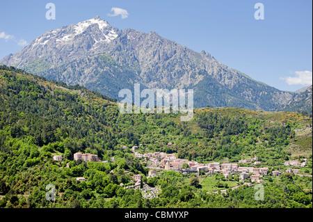 Vivario, Corsica - Stock Photo