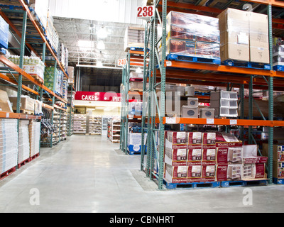 Costco Wholesale Warehouse Store - Stock Photo