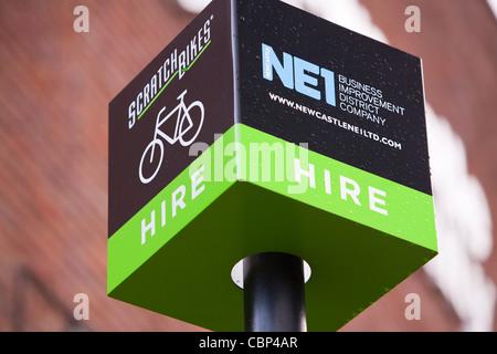 Scratch Bikes A Bike Hire Scheme In Newcastle Upon Tyne North