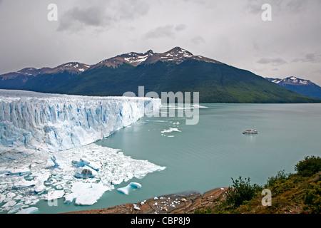 Perito Moreno glacier. Los Glaciares National Park, El Calafate area, Santa Cruz province. Patagonia. Argentina. - Stock Photo