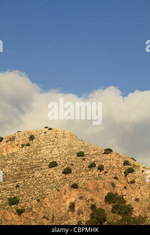 Israel, Mount Precipice in the Lower Galilee - Stock Photo