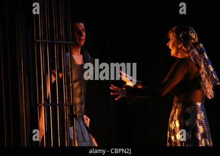 SALOME, SALOME - lyrical drama in 1 act- Music by Richard STRAUSS -from the Oscar WILDE novel - Musical direction - Stock Photo