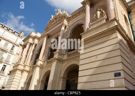 Theatre Municipal on Place Victor Hugo Toulon France - Stock Photo