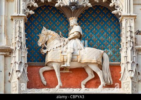 Loire Valley, Chateau de Blois - Stock Photo
