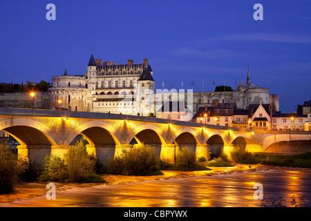Loire Valley, Amboise castle - Stock Photo