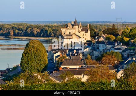 France, Montsoreau Village - Stock Photo