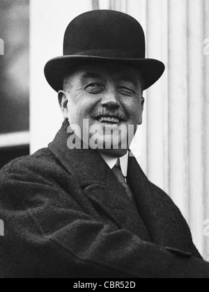 Vintage photo of British Labour politician Arthur Henderson (1863 - 1935) - winner of the Nobel Peace Prize in 1934. - Stock Photo