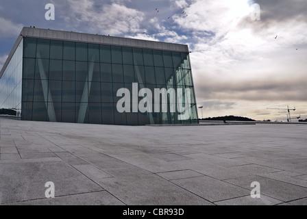 Oslo: National Oslo Opera House - Stock Photo
