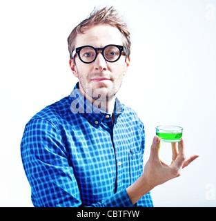 crazy-style scientific - Stock Photo