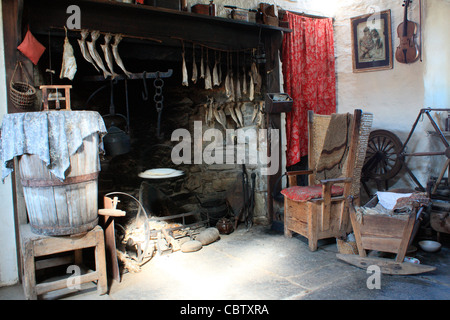 Orkney, Corrigall Farm Museum - Stock Photo