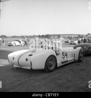 Sports Car Club Of America Races From The Early 1960s Or Late 1950s.   Stock