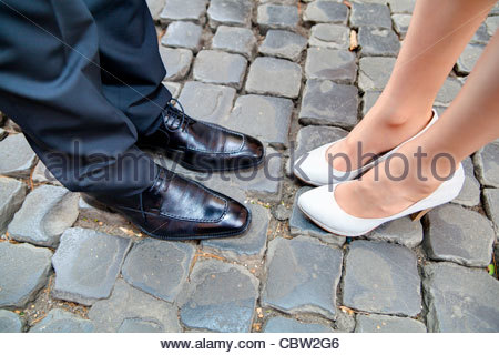 Couple's shoes - Stock Photo