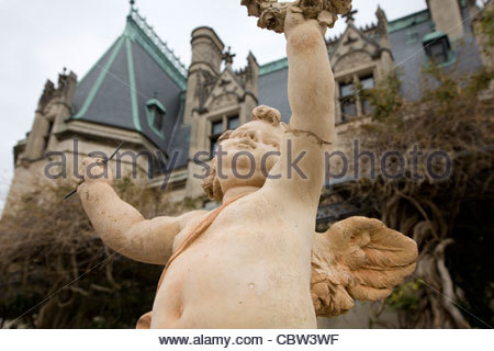 Biltmore House Estate, Asheville, North Carolina - Stock Photo