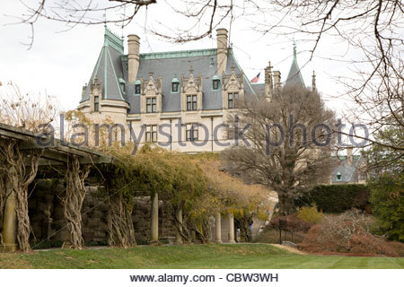 Biltmore House Estate, Asheville, North Carolina - Stock Photo