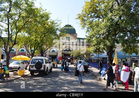Central market, Maputo, Mozambique - Stock Photo