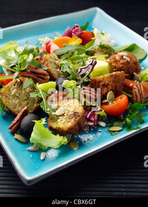 falafel salad - Stock Photo