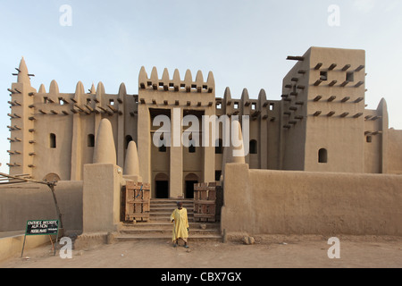 Great Mosque of Djenné, Mali, Africa - Stock Photo
