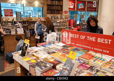 Strand Famous Bookstore on Broadway, Manhattan (New York City) - Stock Photo