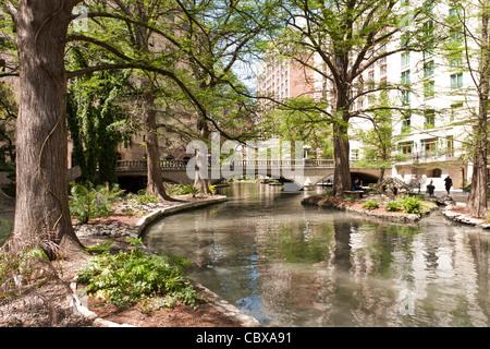 River Walk, San Antonio - Stock Photo