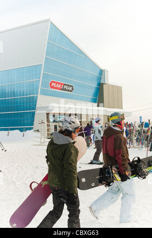 Whistler Ski Resort, British Columbia, Canada - Stock Photo