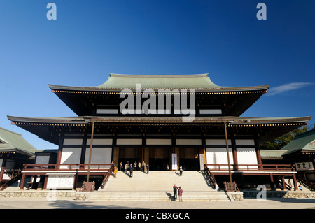 NARITA, Japan - The Great Main Hall at Shinshoji. The Narita-san temple, also known as Shinsho-Ji (New Victory Temple), - Stock Photo