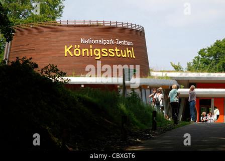 National park centre Koenigsstuhl on the Island Ruegen. - Stock Photo