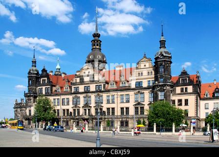 Residence castle in Dresden.