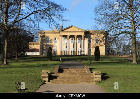 The Mansion, Roundhay Park, Leeds - Stock Photo