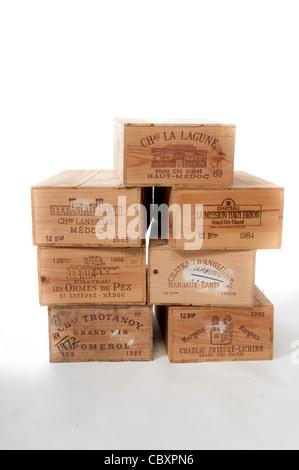 Wine Boxes - Stock Photo