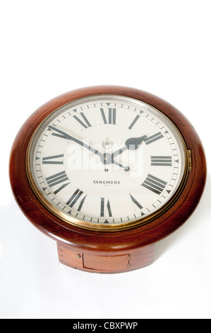 Antique Clock from RAF Tangmere - Stock Photo