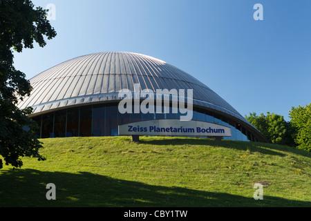 Zeiss Planetarium, Bochum in North Rhine-Westphalia, Germany - Stock Photo