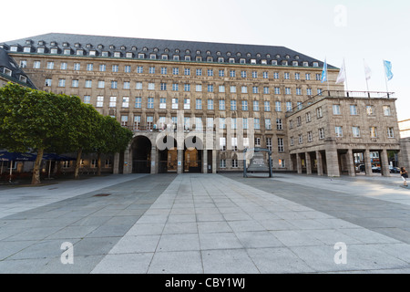 City hall, Bochum in North Rhine-Westphalia, Germany - Stock Photo