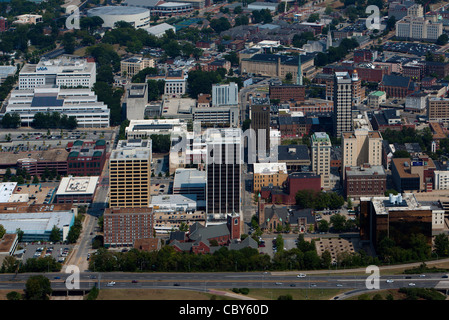 aerial photograph Chattanooga, Tennessee - Stock Photo