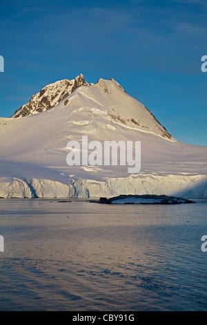 Port Lockroy, Gerlache Strait, Antarctic Peninsula - Stock Photo