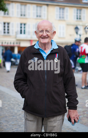 John Painter in Falaise France - Stock Photo