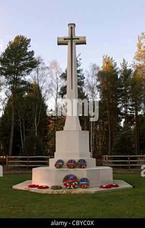 Brookwood Military Cemetery near Woking Surrey England UK - Stock Photo
