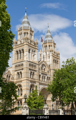 Natural History Museum in London United Kingdom - Stock Photo